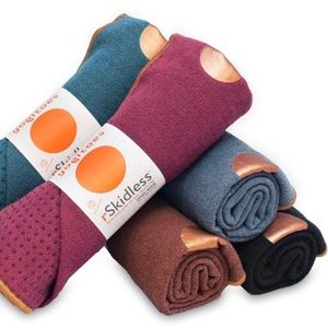 Grey Yogitoes Manduka Yoga Towel for Mat